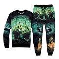 Tupac Crewneck Sweatshirt Sudaderas Hombre 2015 Hip Hop Hoodies Winter Men's Sportwear Coat Jogger Tracksuit Pullovers