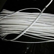10 мм x 50 м 1 см x 50 м Светоотражающая окантовка ткани полосы окантовка свадебное украшение со стразами лента пришить для одежды мешок кепки брюки