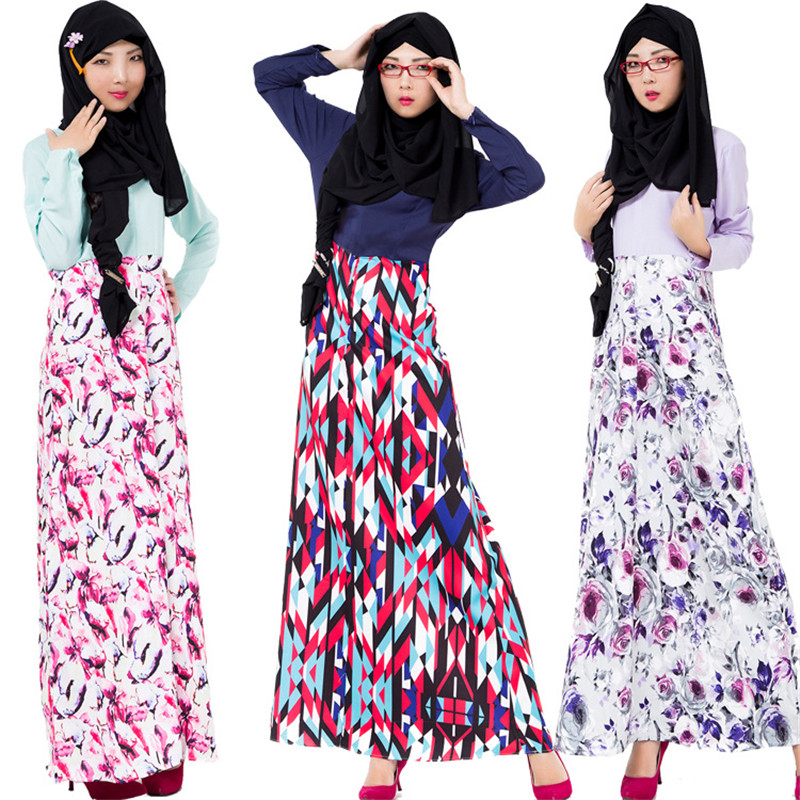 long shirts muslim women middle east islam hijab fashion dresses women caftan long arabic maxi dress muslim party dress