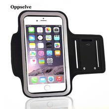 купить Oppselve Waterproof Gym Sports Running Armband For iPhone 7 8 4 5 5S 5C SE 6 6s Plus X XS Max XR Phone Case Cover Holder Armband дешево