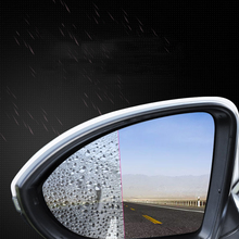 цены 2PCS Car Rearview Mirror Waterproof Car Sticker Auto Accessories Stickers Film Cars Styling Anti Fog Protective Film For Cars