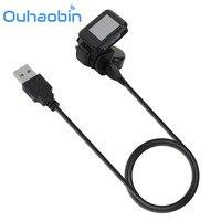Ouhaobin Caricabatterie Wireless Charging Bacino Della Culla Pad + Cavo USB Per Tom Tom Corridore/Multi GPS Sport Watch Ottobre 13 Dropship