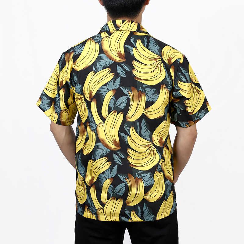 Подводный мир 3D печать мужская гавайская рубашка 2019 лето новая с коротким рукавом тропическая Мужская рубашка навыпуск с ярким рисунком Мужская s праздничная одежда для отдыха