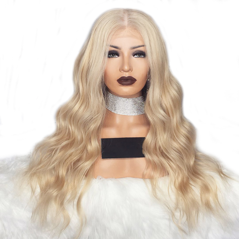 Novel Designs Delightful Colors And Exquisite Workmanship Charisma 180 Density Glueless Body Wave Wig Natural Hairline Synthetic Lace Front Wigs For Women Heat Resistant Wigs Famous For Selected Materials