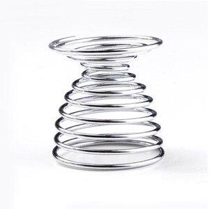 1 шт./2 шт./3 шт. держатель вареных яиц Горячие продукты Stainelss стальной пружинный проволочный лоток для яиц чашка инструмент для приготовления пищи