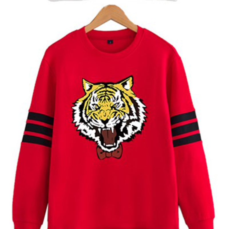 New Anime Yuri!!! on Ice Cosplay Costumes Yuri Plisetsky Cosplay Sweatshirt Tiger Print Women Men Cotton Hoodie New