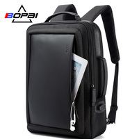 BOPAI Enlarge Anti theft Laptop Backpack USB External Charge 16 Inch Multifunction Backpack Bag Travel Bag Men School Teenagers