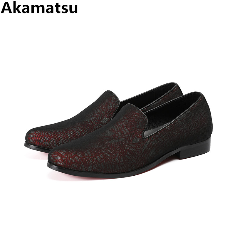 Top quality classic Italian chaussure homme casual shoes men slip on loafers genuine leather smoking velvet slippers flats 2018