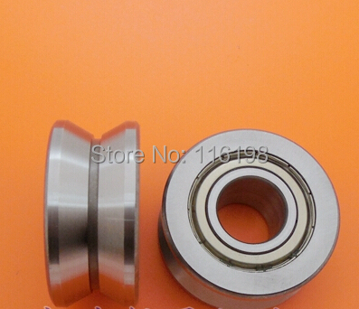 LV202/41 V-41 V groove deep groove ball bearing 15x41x20mm Traces walking guide rail bearings 1 piece bu3328 6 6 33 27 5 29 5 mm z25 guide rail u groove plastic roller embedded dual bearing