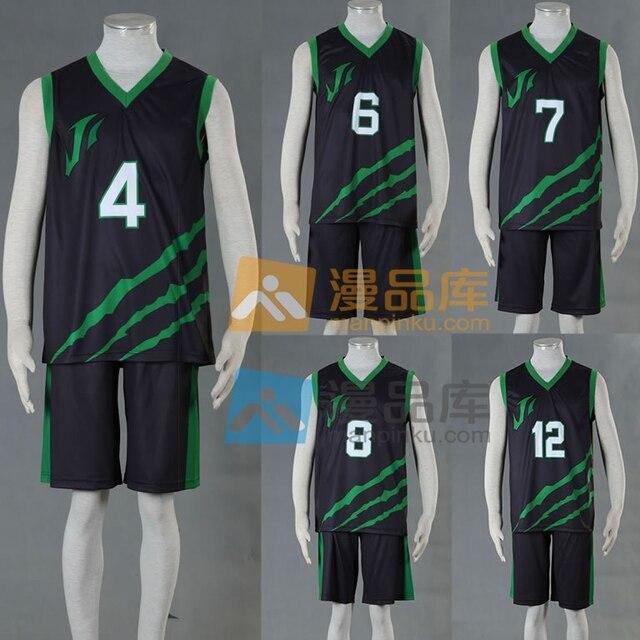 Kuroko no Basket Anime ÚLTIMO PARTIDO Bola de La Calle Equipo Galimatazo  uniforme Número 4 6 aec7a4b02ed5f