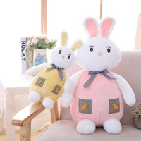 Cute Radish Pocket Rabbit Doll Plush Toy Rabbit Ragdoll Sleeping Pillow White Rabbit Doll Child Girl Birthday Gift Home Decor