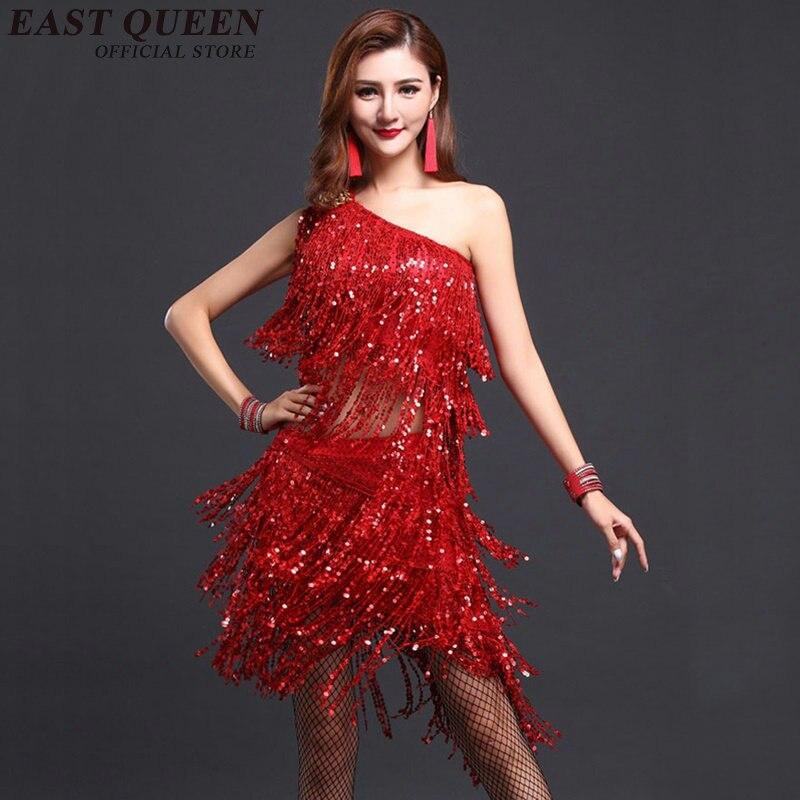 Costumes de danse latine pour femmes robe de salle de bal latine costumes de concours de danse latine AA2456 Y