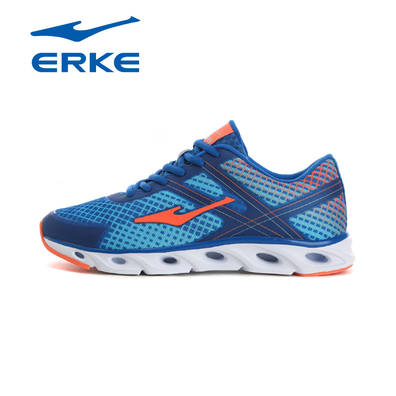 Famous Brand ERKE Mesh Sports Running Jogging Sneakers Shoes For Men Sport Breathable Running Shoes Sneaker Man Runners men running shoes style jogging outdoors adults super light weight sneakers for men air mesh breathable zapatos hombre sports