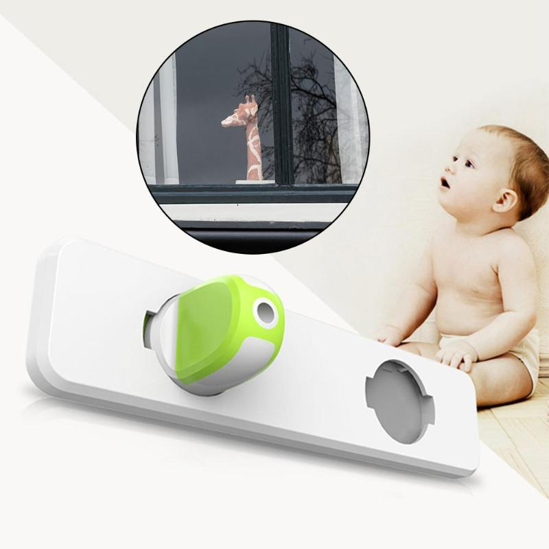 1pc Window Child Safety Lock Sliding Windows Lock Door Cabinet Closet Wardrobe Security Protection Locks For Baby Safety Props
