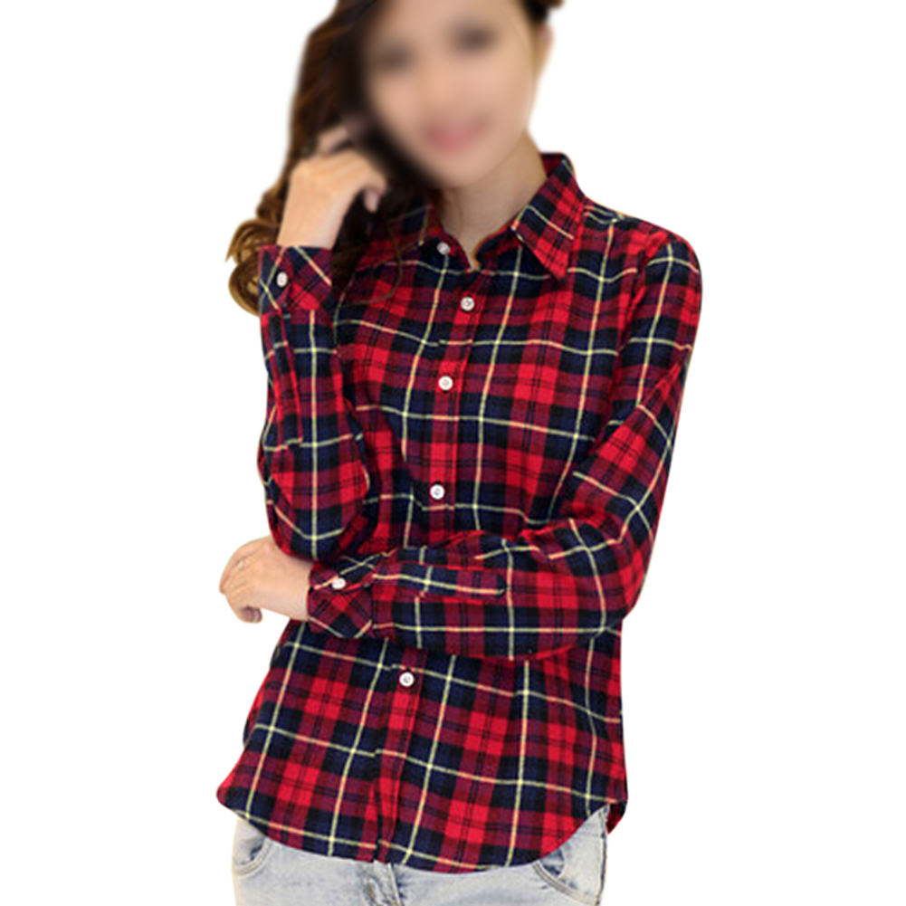 ccefe38ab98f0f Women's Plaid Shirts & Tops + FREE SHIPPING - Zappos