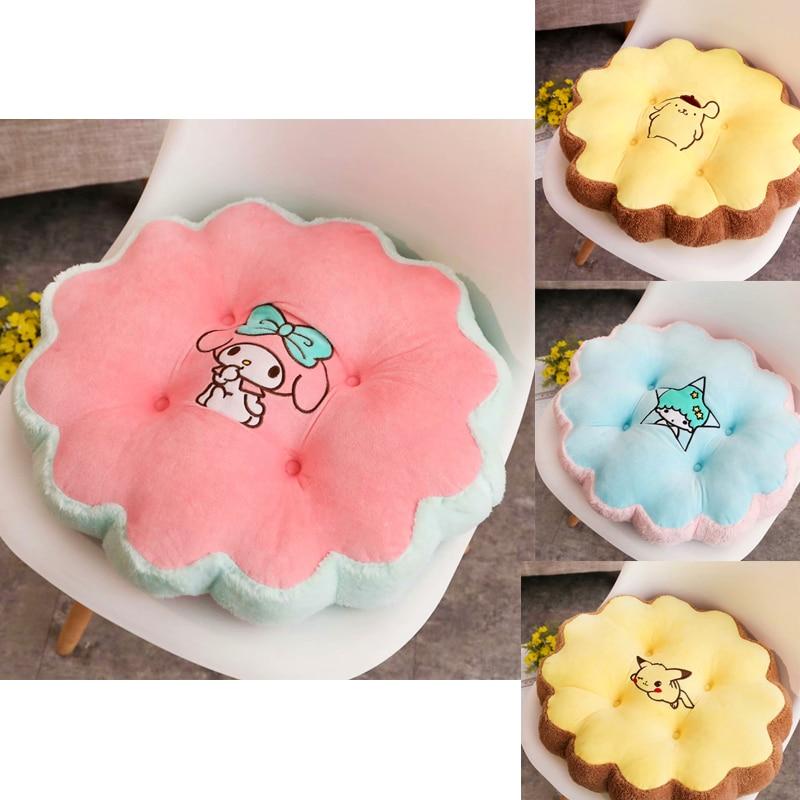 Petites étoiles jumelles cannelle ma mélodie peluche pom pom purin peluche kawaii cadeau créatif chambre décor mignon peluches 42 cm 1 pièces