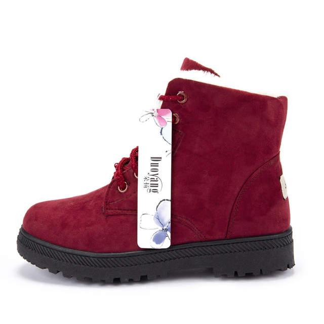 f626f101a4b Women winter boots 35-44 high heel fur warm snow boots women ankle boots  2018