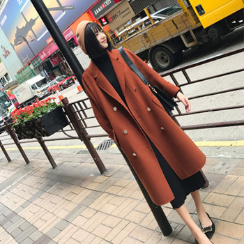 Women Winter Woolen Loose Coat 1