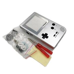 Image 3 - حافظة كاملة الإسكان شل استبدال ل Gameboy جيب لعبة وحدة التحكم ل GBP شل مع أزرار عدة