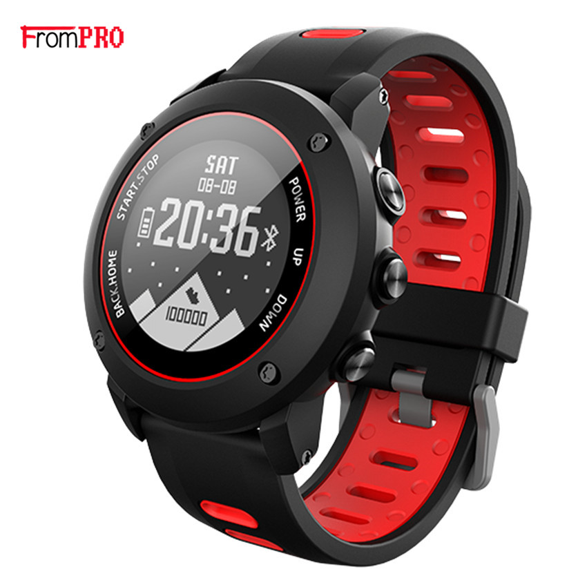 FROMPRO Professional GPS Outdoor Sport Smart Watch UW90 Sport Wristwatch IP68 Waterproof Swimming Snoeling Heart Rate Fitness siku трактор john deere с пресс подборщиком
