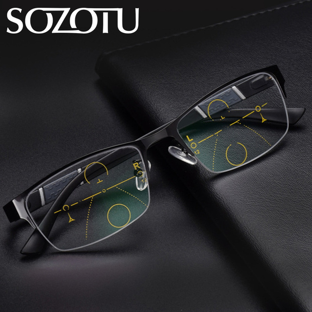 1a5e2c6c1 Multi-focal Progressiva Óculos De Leitura Presbiopia Óculos Óculos Das  Mulheres Dos Homens Unisex Óculos