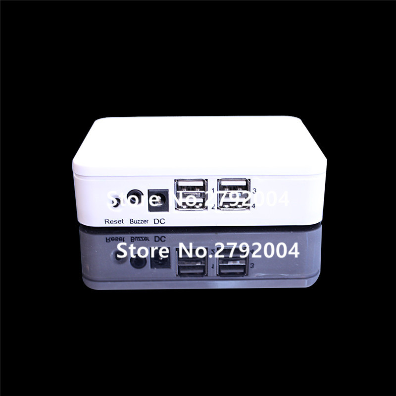 2pcs/lot 4 ports Android iOS Cell Phone Security Alarm System Mobile Phone Retail Store Anti-theft Device with Acrylic Holders 5pcs lot cell phone security anti theft display stand with alarm and charging function for mobile phone retail store exhibition