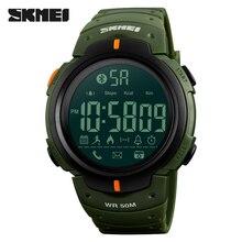 Fashion Smart Watch SKMEI Brand Pedometer Calorie Remote Camera Digital Wristwatches Bluetooth font b Smartwatch b