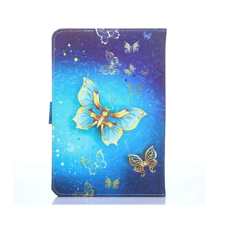 Myslc housse universelle pour MEDIACOM SmartPad 8.0 S2 4G/SMARTPAD HX 8 HD M-SP8HXAH/M-SP8MXAH 8 pouces tablette imprimé PU étui en cuir