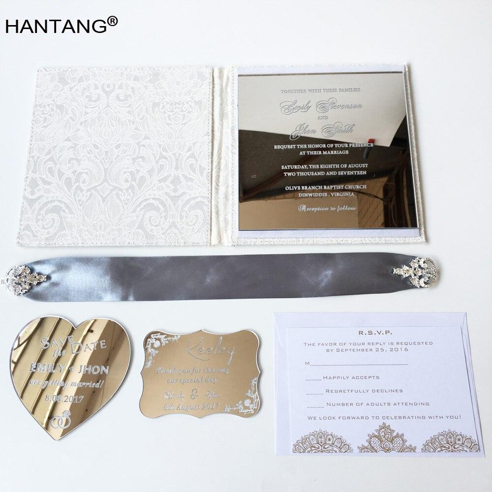 150x150mm Square Shape Silver Mirror Acrylic Wedding Invitation Card 100 Sets Per Lot 2 sets lot furniture square shape foot skid glide slide pad nail protectors 50pcs
