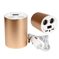 Dual Port USB Car Charger Adapter Cigarette Lighters Plug Car Off Road Phone Charger 3 1A