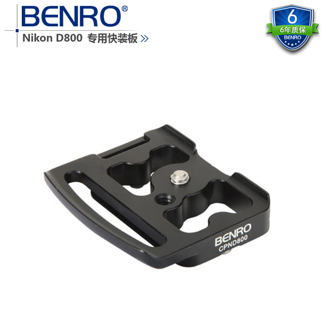 BENRO CPND800 camera plate For Nikon D800 Special Plate tripod head Universal Quick Release Plate