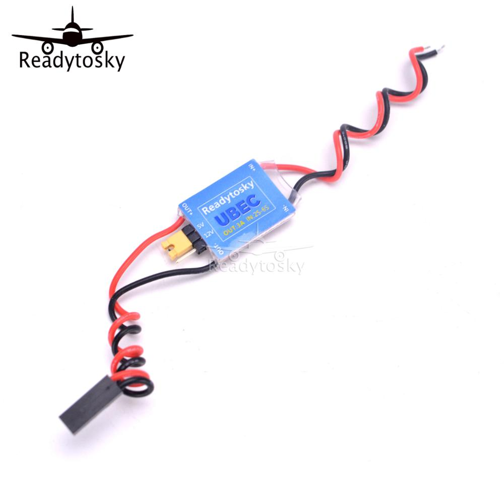 NEW UBEC Power Module 2-6S 5V/3A And 12V/3A Adjustable Switchable BEC RC Parts For FPV