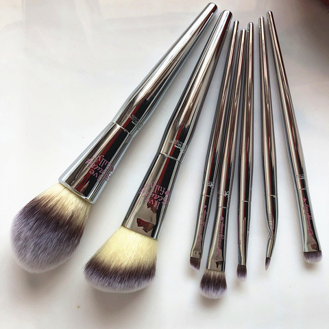 pincel de maquiagem profissional sombra em po