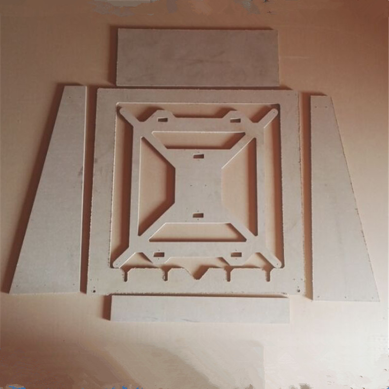 Horizon Elephant  Reprap mendel prusa ist-mgpri3rw mega frame for DIY 3D printer 9 mm MDF plate Mega_Prusa_i3_rework_Frame MDF horizon elephant reprap prusa mendel i3 smooth rod screw rod screw kit for diy 3d printer