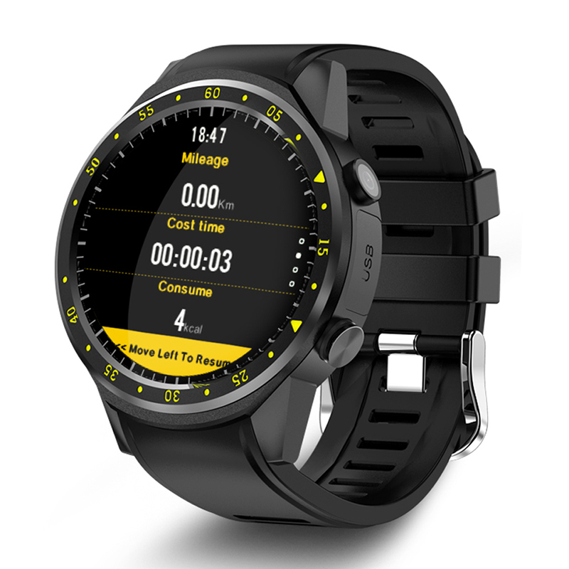 F1 GPS Bluetooth Smart Watch Heart Rate Monitor Smartwatch SIM TF Card Watches for Android IOS Watch Phone Electronic Wrist
