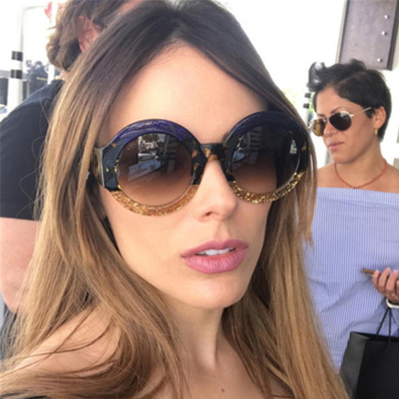5f48767bbf POLYREAL 2018 New Round Sunglasses Luxury Women Brand Designer Fashion Sexy  Sun Glasses For Female Party Shades UV400-in Sunglasses from Apparel  Accessories ...