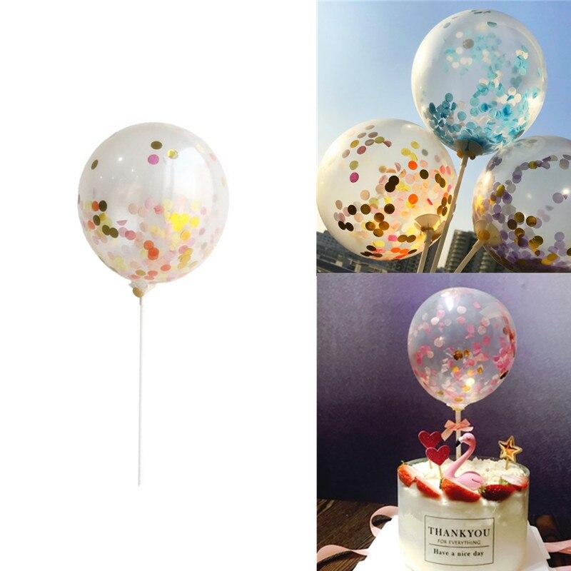 DIY 5X 12Inch Confetti Latex Balloons Wedding Decoration Birthday Party Supplies