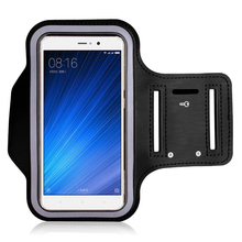 hot deal buy 5.5 inch black waterproof gym for xiaomi redmi 4x 5a 4a mi6 5s 3s redmi 4x 5a note 3 4 arm band  mobile phone pouch bags case