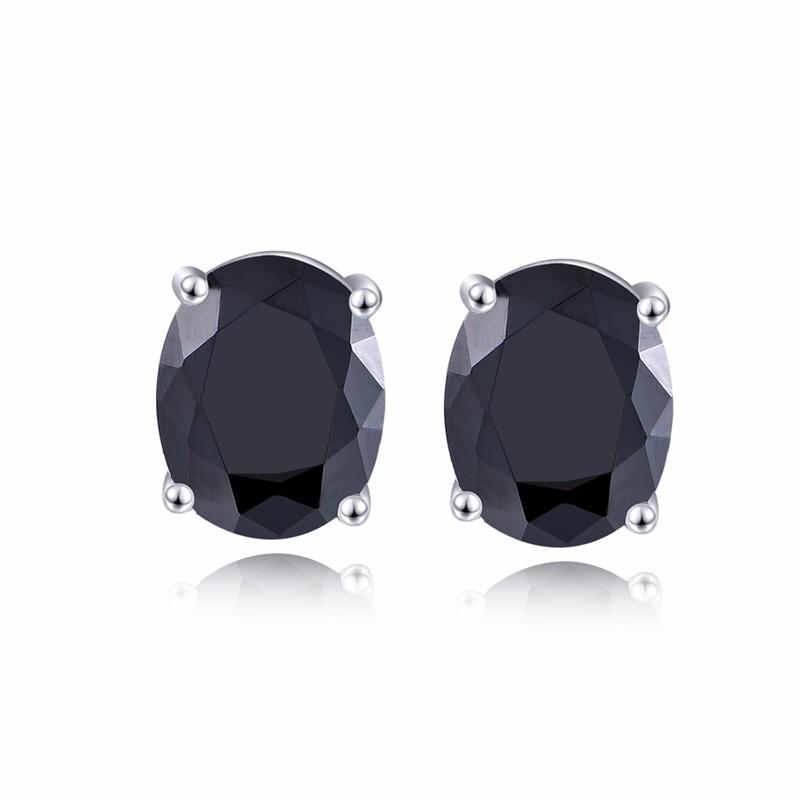 black stud earrings ,hot sale new earrings for women black NE79200F (2)