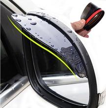 Universale Accessori Auto Specchio Retrovisore Pioggia sopracciglio Copertura Della Pioggia per Renault sceni c1 2 c3 modus Duster Logan Sandero