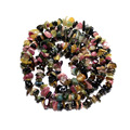 Wholesale Natural Mix Color Gravel Shape Tourmaline 5-8 mm Stone Beads For Jewelry Making Diy Bracelet Necklace Strand 34''