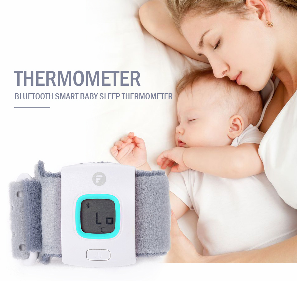 Children iFever intelligent wearable electronic thermometer Bluetooth smart baby sleep font b monitor b font household
