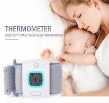 Niños iFever portátiles inteligentes Bluetooth inteligente sleep monitor de bebé termómetro hogar termómetro electrónico