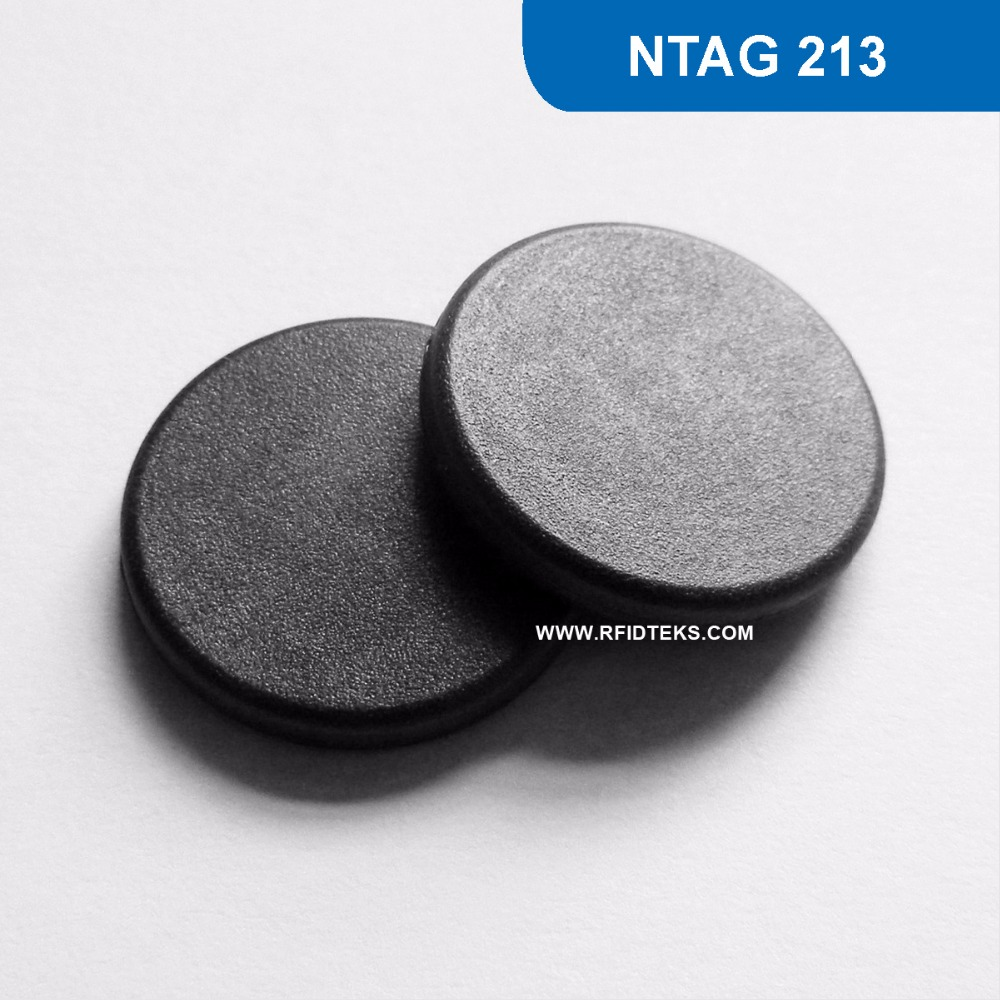 G8MM Dia 18mm RFID Mini Tag Passive NFC High temperature Tag 13.56MHZ 144BYTES R/W ISO14443A with NTAG 213 Chip 4pcs lot nfc tag sticker 13 56mhz iso14443a ntag 213 nfc sticker universal lable rfid tag for all nfc enabled phones dia 30mm