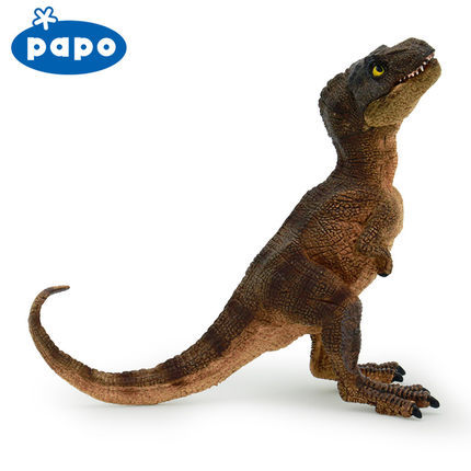 Aliexpress.com: Comprar Papo marrón bebé t rex dinosaurio simulado ...