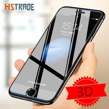 HSTRADE 10 Pcs 3D 0.26mm 9H Premium Tempered Glass For iPhone 4 5 5S 6 6 Plus 7 7 Plus 8 8 Plus Screen Protector Toughened film