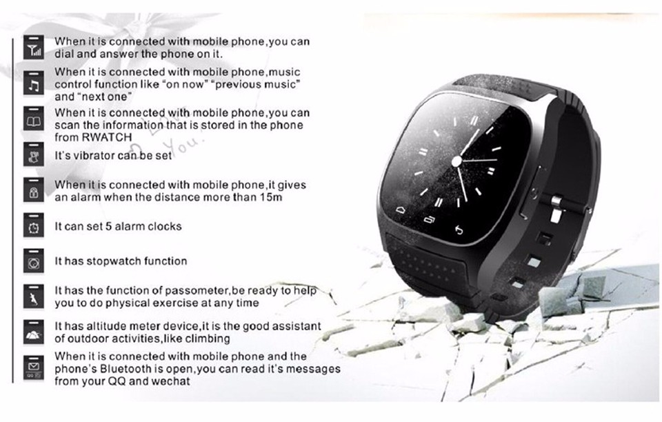 SHAOLIN Bluetooth Smart Watch Phone Wearable Devices SmartWatch For Apple Android IOS Mobile Phone PK GT08 DZ09 U8 A9 IWO -3
