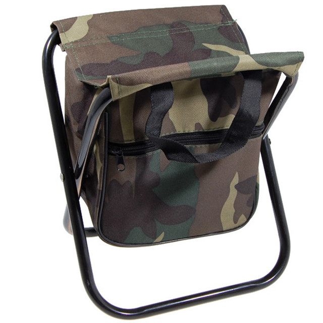 portable folding camping chair foldable fishing stool chair with