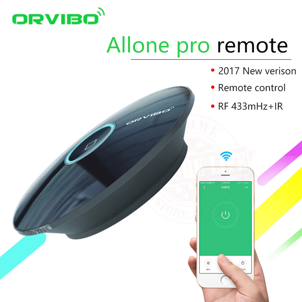 2017 Orvibo Allone pro IR+RF+WIFI Smart Home Automation Intelligent Universal Controller Wireless Smart Remote Control Switch  2