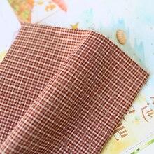 DIY Япония маленькая ткань группа окрашенная пряжа ткань, для шитья ручная работа пэтчворк Квилтинг, сетка полоса точка D20